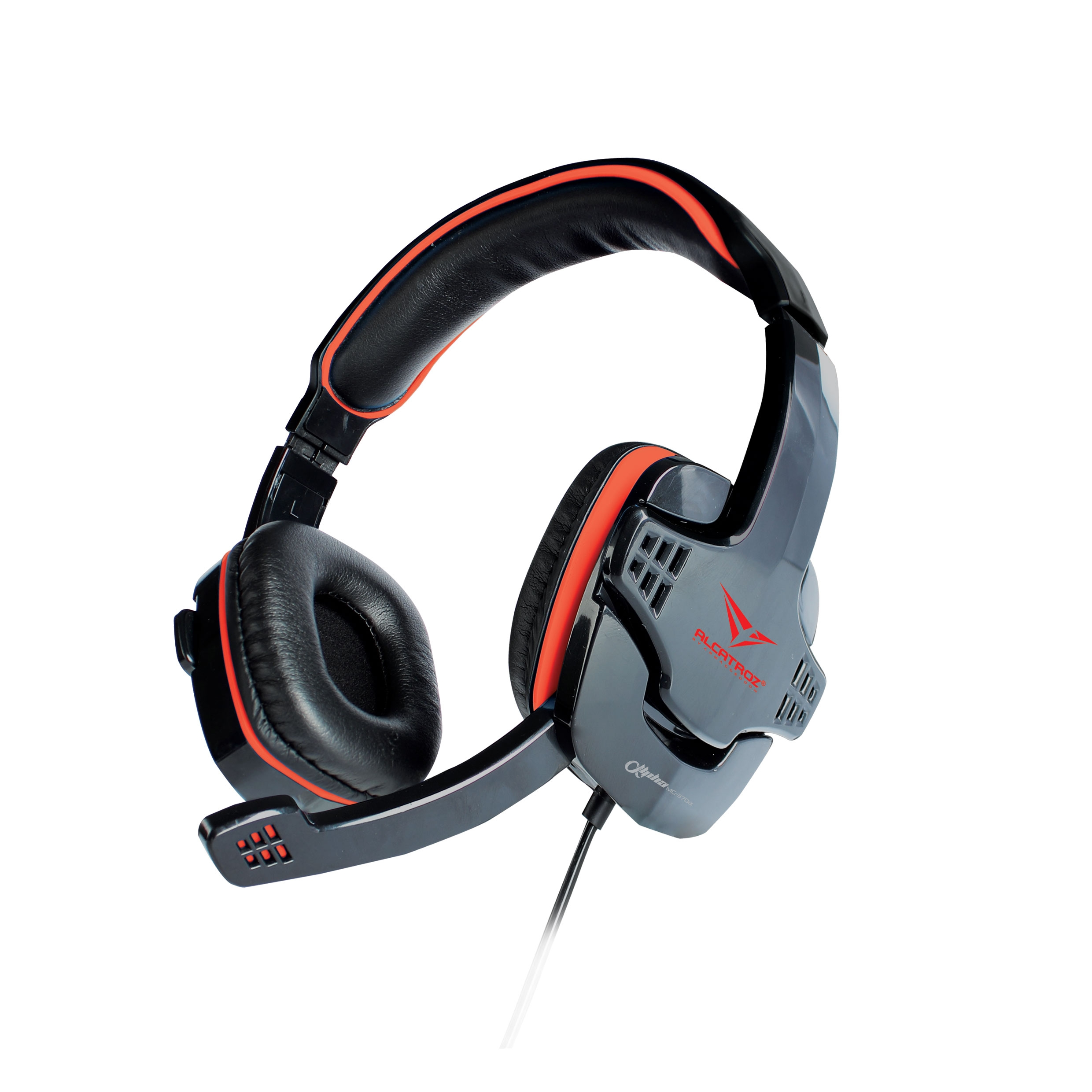 ALCATROZ Alpha MG370A Wired Gaming Headset with Mic (Black)