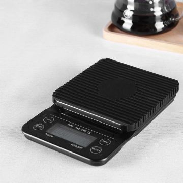 MOJAE Coffee Scale With Timer Electronic Digital Kitchen Scale High Precision Lcd Electronic
