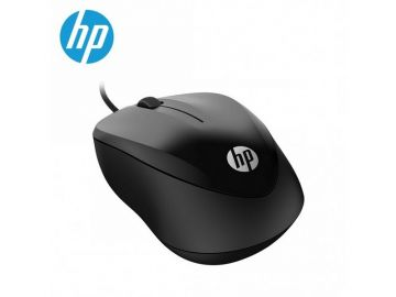 HP Wired Mouse 1000 (Black) (4QM14AA)