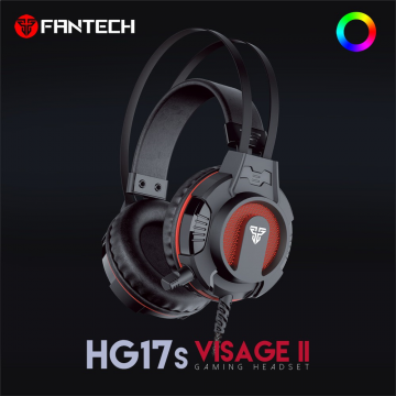FANTECH HG17s VISAGE II Super Bass Mid-Size Gaming Headset With CHROMA Lighthing Effect