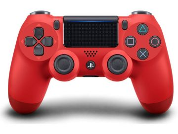 Sony PS4 DUALSHOCK®4 Wireless Controller PS4 - Magma Red (Original Sony Malaysia Warranty)