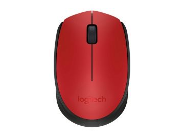 Logitech M171 Wireless Mouse (Red)