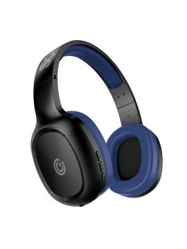 SonicGear AirPhone 3 Bluetooth Headphones With Mic For Smartphones and Tablets (Black/Blue)