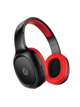 SonicGear AirPhone 3 Bluetooth Headphones With Mic For Smartphones and Tablets (Black/Red)
