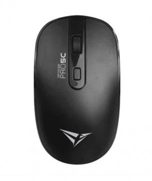 ALCATROX Airmouse Pro 5C Wireless Silent Mouse (Black)