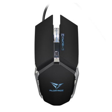 ALCATROX Cyborg C2 Wired USB Gaming Mouse (Black)