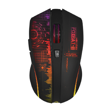 ARMAGGEDDON Mikoyan Foxbat III Ironsight-7 5-button 2.4GHz Wireless Gaming Mouse