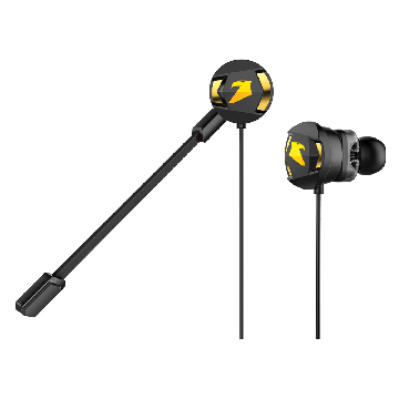 ARMAGGEDDON Wasp-5 Super Bass Gaming Earphones with Dual Driver & Dual Microphone (Detachable)