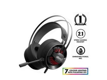 Armaggeddon Atom 5 Stereo Gaming Headphones with Mic (50mm) Super Bass