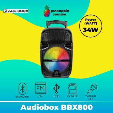 Audiobox BBX800 TWS Bluetooth Trolley Speaker Free Wireless Mic