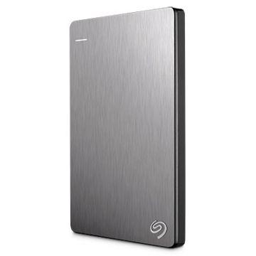 SEAGATE Backup Plus Slim 1TB USB3.0 Portable External Hard Drive / Hard Disk (STDR1000301) (Silver)