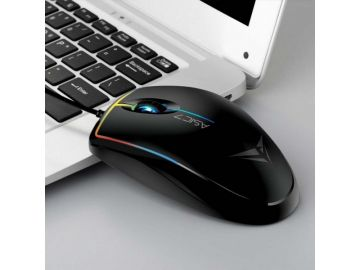 Alcatroz Asic 7 RGB FX High Performance USB Mouse 1000CPI