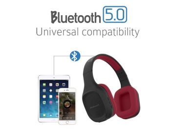 SonicGear Airphone 5 Wireless Headset (High Clarity With Strong Bass) Bluetooth 5.0 For Smart Phone And Tablets