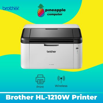 BROTHER HL-1210W Wifi Mono Laser Printer