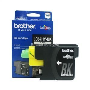 BROTHER LC-67HY Black Ink Cartridge (900 pages) (LC67HY BK)