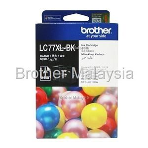 BROTHER LC-77XL Black Ink Cartridge (2,400 pages)