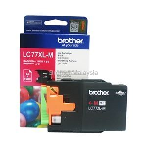 BROTHER LC-77XL Magenta Ink Cartridge (1,200 pages)