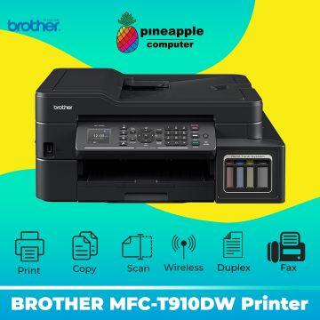 BROTHER MFC-T910DW AIO Fax Duplex Wifi ADF Refill Tank System Printer