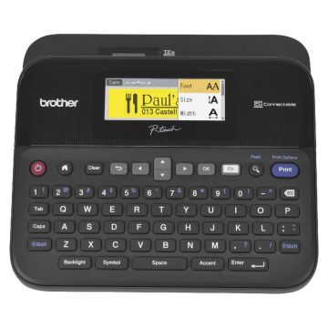 BROTHER PT-D600 P-Touch LCD Color Screen Label Printer