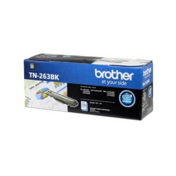 BROTHER TN-263 Black Toner Cartridge (1,400 pages)