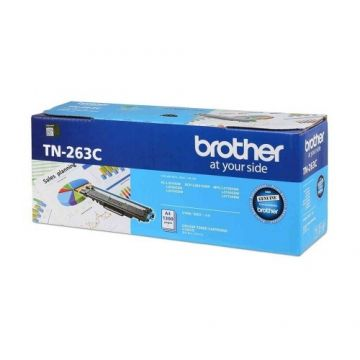 BROTHER TN-263 Cyan Toner Cartridge (1,300 pages)