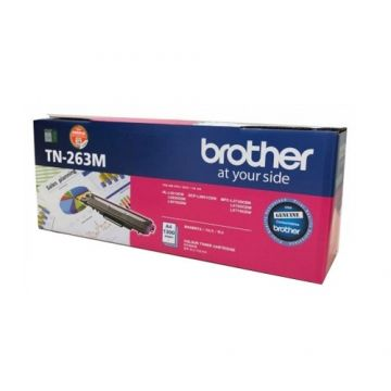BROTHER TN-263 Magenta Toner Cartridge (1,300 pages)