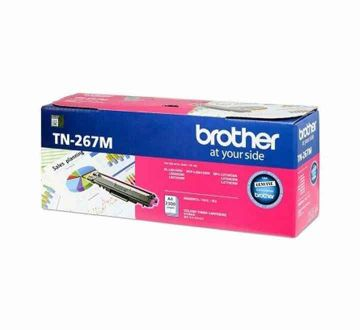 BROTHER TN-267 Magenta Toner Cartridge (2,300 pages)