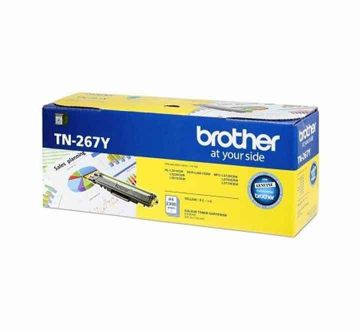 BROTHER TN-267 Yellow Toner Cartridge (2,300 pages)
