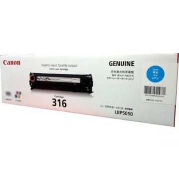 Canon 316 Cyan Original Toner Cartridge