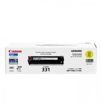 CANON Cart 331 Yellow Toner Cartridge (1,500 pages)