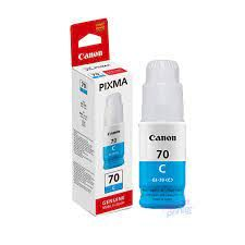 CANON GI-70 Cyan Ink Bottle (7,000 pages)