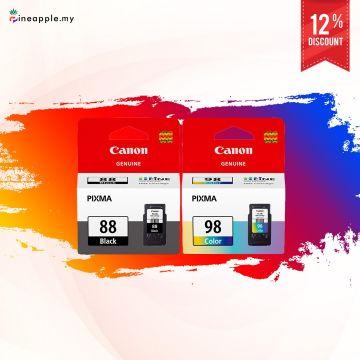 CANON PG-88 Black + CL-98 Color Ink Cartridge Promo Bundle (PG88)