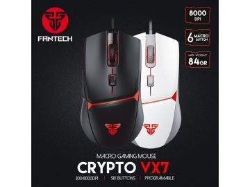 Fantech VX7 Crypto 6D Lightweight Macro Programmable Gaming Mouse