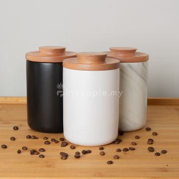 Mojae Ceramic Coffee Sealed Cans Coffee Storage Tank Tea 600ml