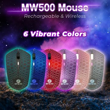 Enco MW500 Rechargeable Wireless Mouse
