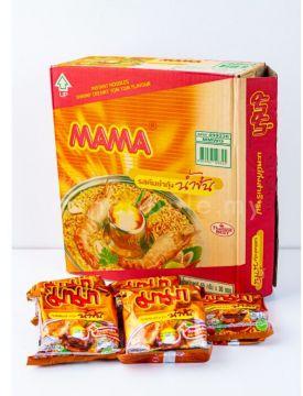 Thai MAMA Instant Noodle - Flavour Tom Yum Shrimp Creamy 1 Box [30packs]