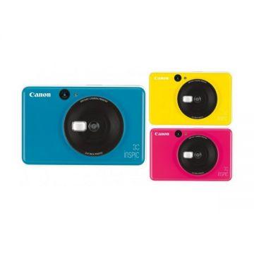 Canon iNSPiC [C] CV-123A 2-in-1 Instant Camera Mini Photo Printer (Blue/Pink/Yellow)