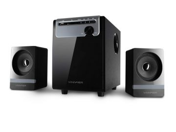 VINNFIER Ether 3BTR 2.1 Speaker with Built in Bluetooth, FM, Micro SD and USB