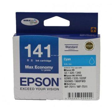 EPSON T141 Cyan Ink Cartridge (C13T141290)