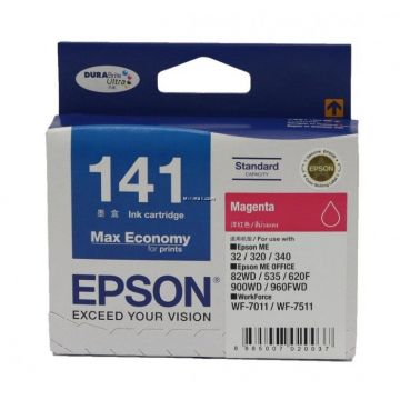 EPSON T141 Magenta Ink Cartridge (C13T141390)