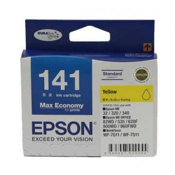 EPSON T141 Yellow Ink Cartridge (C13T141490)