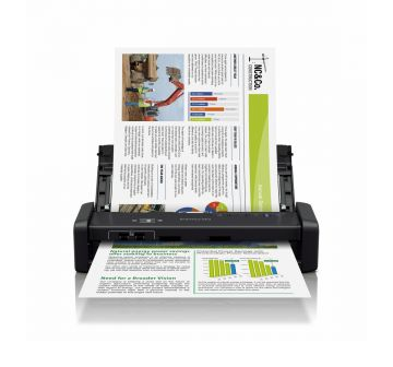 EPSON WorkForce DS-360W Wifi Portable Sheet-Fed Document Scanner