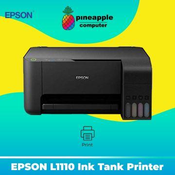 EPSON EcoTank L1110 Ink Tank Printer (print only)