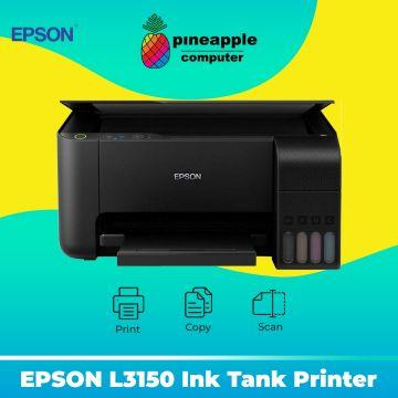 EPSON EcoTank L3150 AIO Wifi Ink Tank Printer (Black)