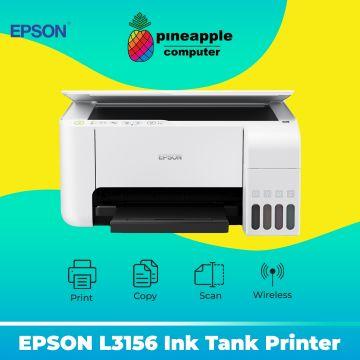 EPSON EcoTank L3156 AIO Wifi Ink Tank Printer (White)