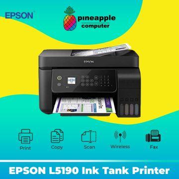 EPSON EcoTank L5190 AIO Fax Wifi ADF Ink Tank Printer