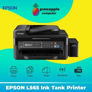 EPSON L565 AIO Fax Wifi Ink tank Printer (Old Carton Box)