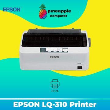 EPSON LQ-310 Dot Matrix Printer (80col / 24pin / 347cps)