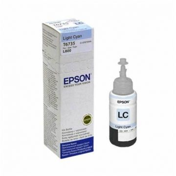 EPSON T6735 Light Cyan Ink Bottle (4,700 pages) (C13T673500)