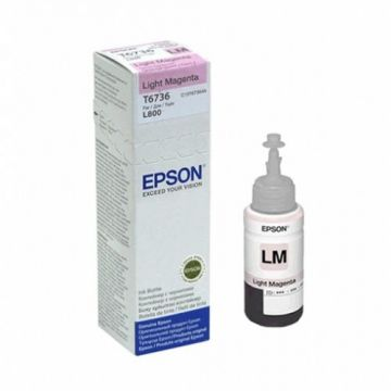 EPSON T6736 Light Magenta Ink Bottle (4,700 pages) (C13T673600)